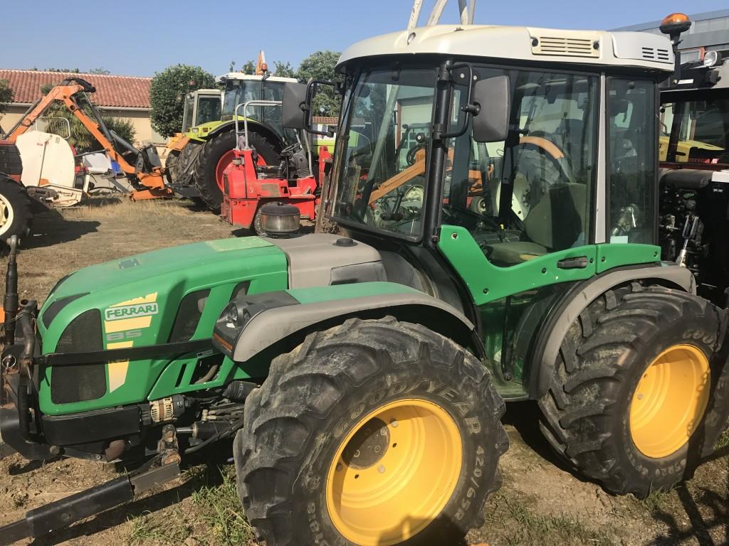 tracteur compact ferrari rs 85 <br/> <span class='soustitre'>tracteur poste réversible ferrari</span>